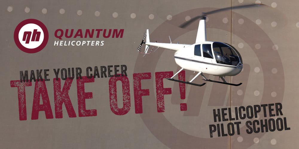 Helicopter Pilot School & Training | Quantum Helicopters