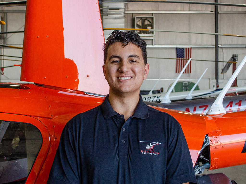 Dylan Ladman, Hangar Assistant