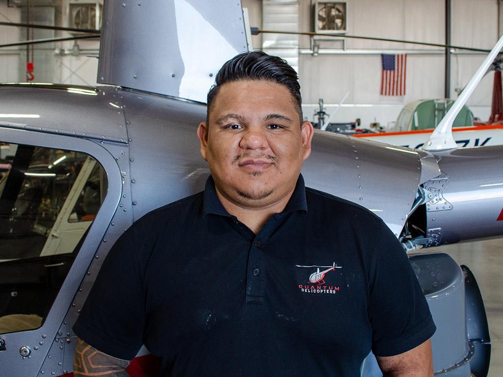 Luis Mundo, A&P/IA Mechanic