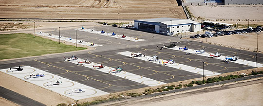 Quantum Helicopter Pilot School Facilities