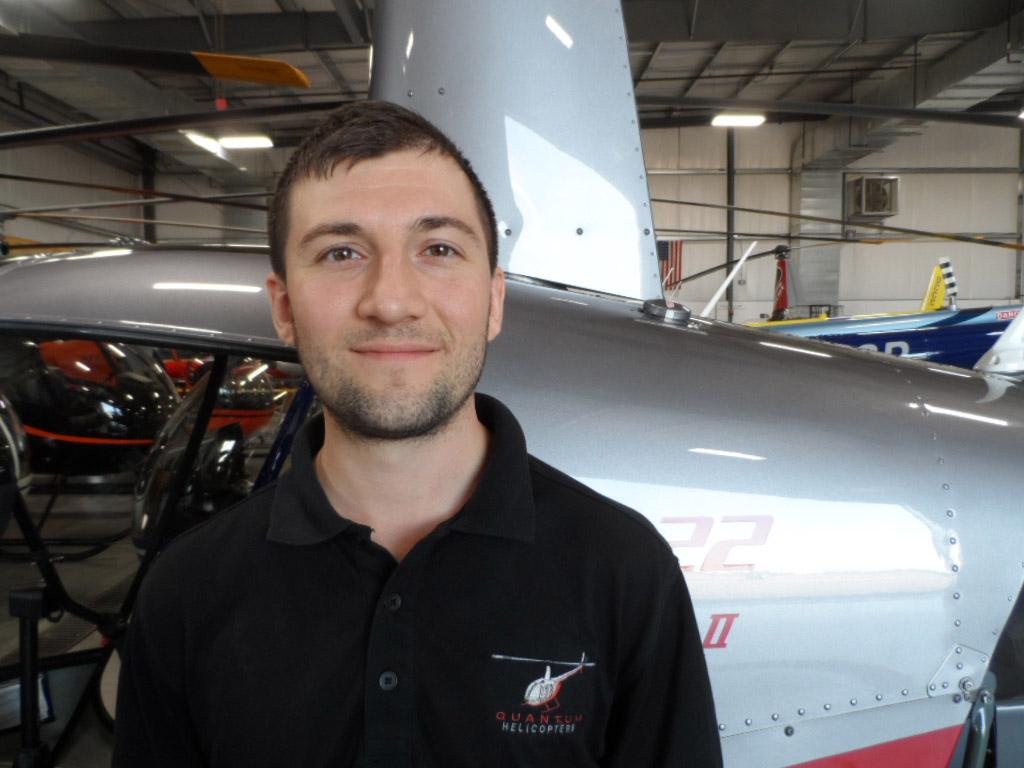 Kyle Pritchard, A&P Mechanic